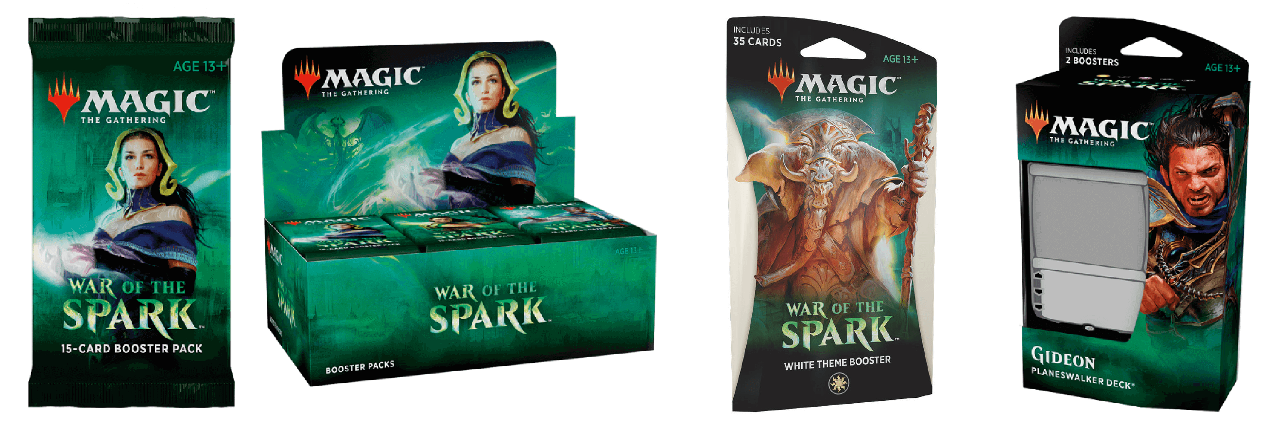 Boosters, Boxes & Decks