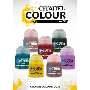 Citadel layer 1 paints