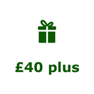 Gifts over £40