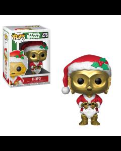 Star Wars: Holiday Santa C-3PO POP! Vinyl Bobble Head Funko #276
