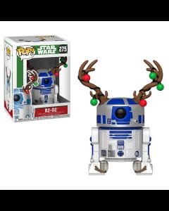 Star Wars: Holiday R2-D2 w/ Antlers POP! Vinyl Bobble Head Funko #275