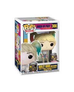 DC Birds of Prey: Harley Quinn and Beaver POP! Heroes Vinyl Figure Funko #308